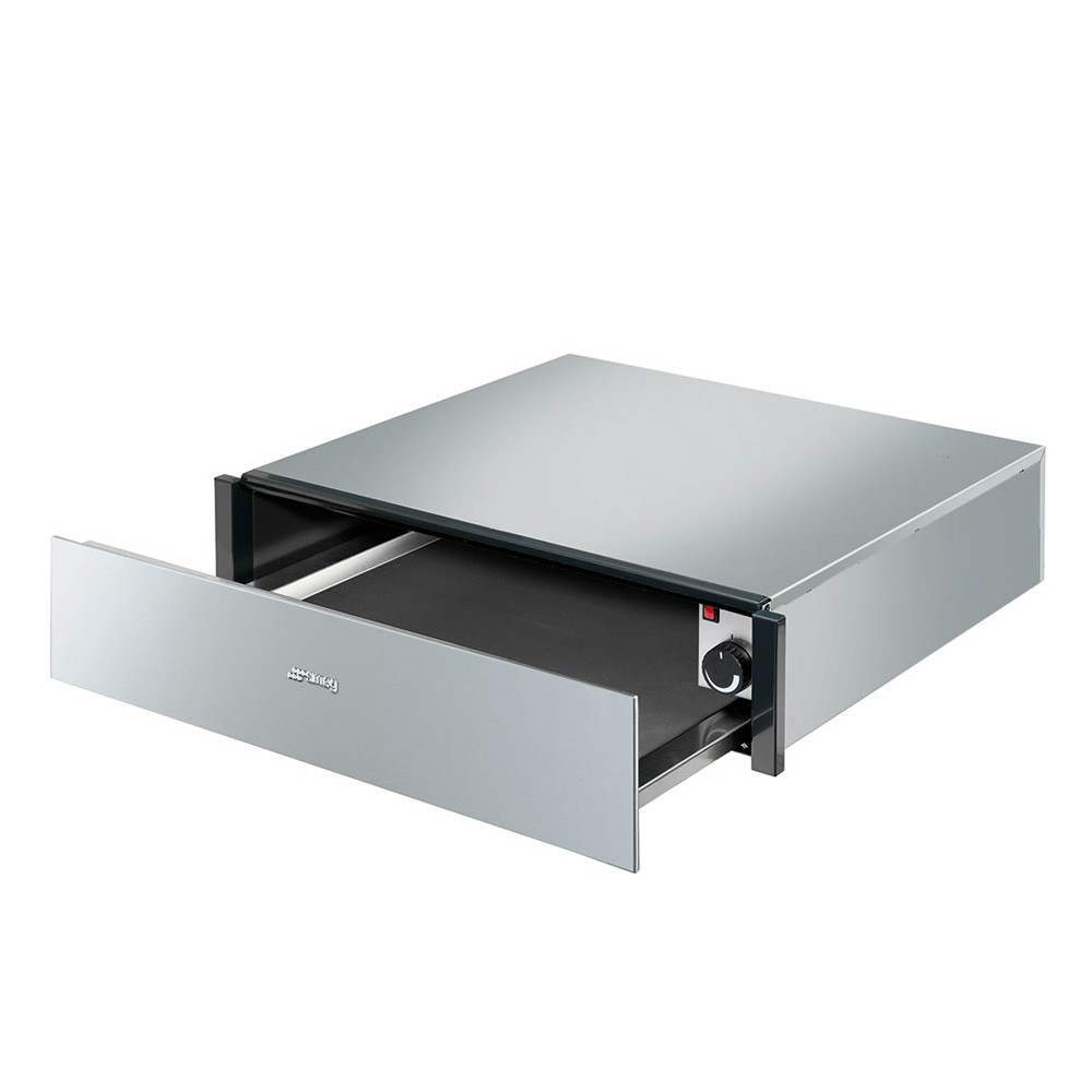 Smeg Classic Built In Warming Drawer, Stainless Steel