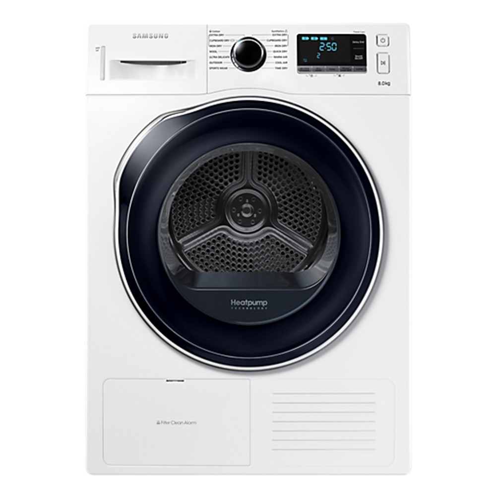 SAMSUNG 8KG Tumble Dryer with Heat Pump Technology