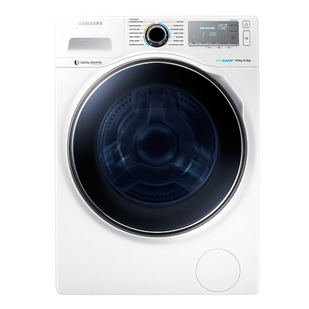 SAMSUNG 9kg Washer Dryer with ecobubble™