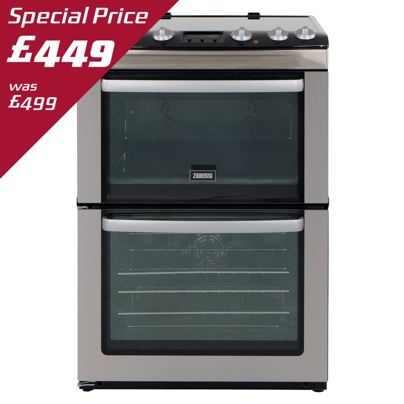 ZANUSSI 60CM ELECTRIC COOKER - ZCV667MX