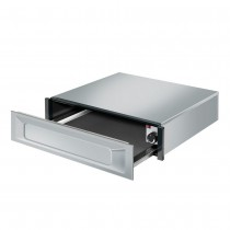Smeg 15cm Built-in Warming Drawer, Stainless Steel