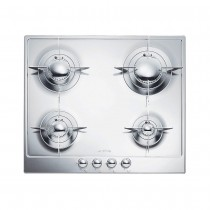 Smeg Piano Design 60cm Gas Hob, Stainless Steel