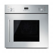 Smeg Cucina 60cm Multifunctional Side Opening Single Electric Oven