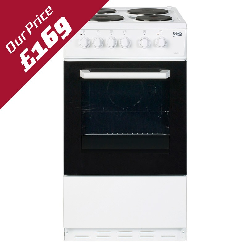 BEKO 50CM ELECTRIC COOKER - BCSP50W