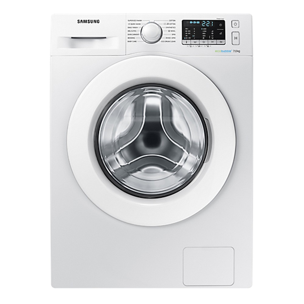 SAMSUNG 7kg Washing Machine with ecobubble™ - WW70J5555MW/EU