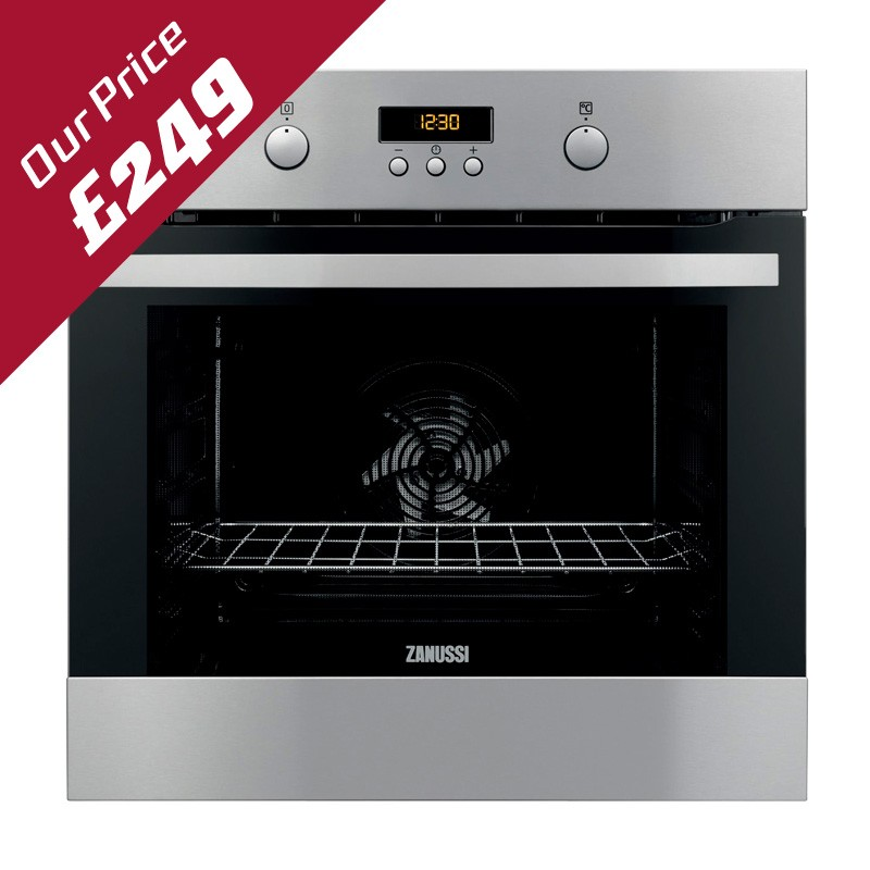 ZANUSSI BUILT IN SINGLE ELECTRIC OVEN - ZOB35302XA