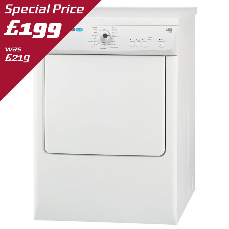 ZANUSSI 7Kg VENTED TUMBLE DRYER - ZTE7101PZ