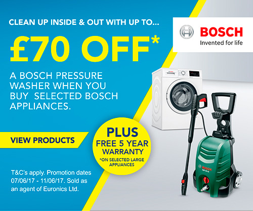 Bosch - Pressure washer offer