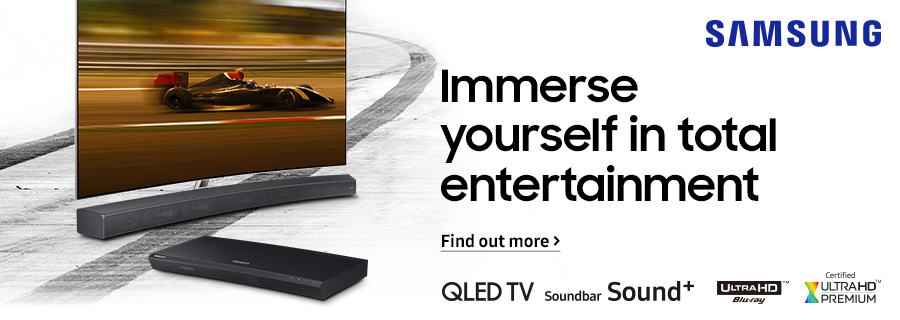 Samsung - Immerse yourself in total entertainment