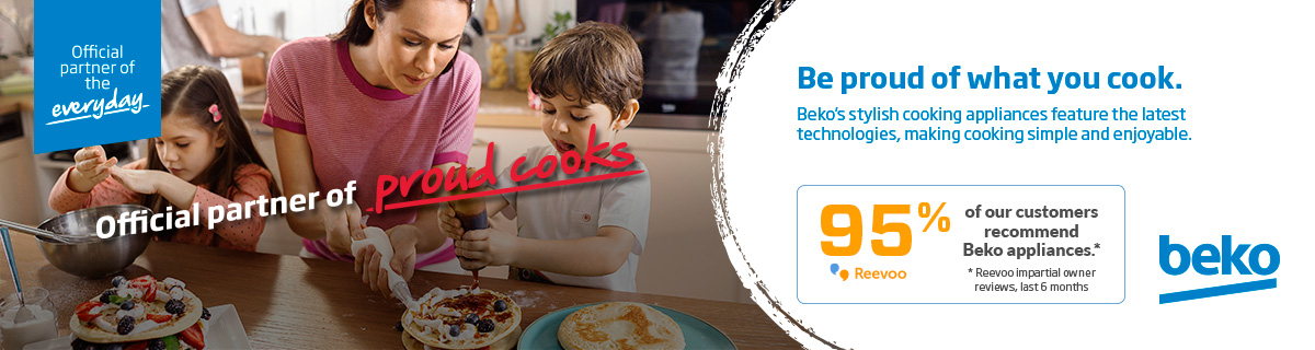 Beko - Official partner of proud cooks