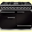Falcon F1092DXDFBL/CM 76860 1092 Deluxe Dual Fuel Range Cooker