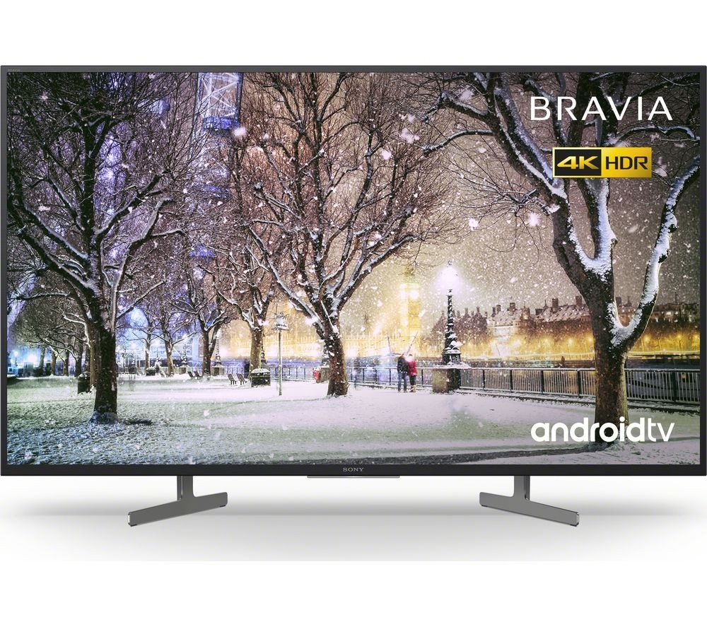 Sony KD49XG8196BU 49` Smart 4K Ultra HD HDR LED TV