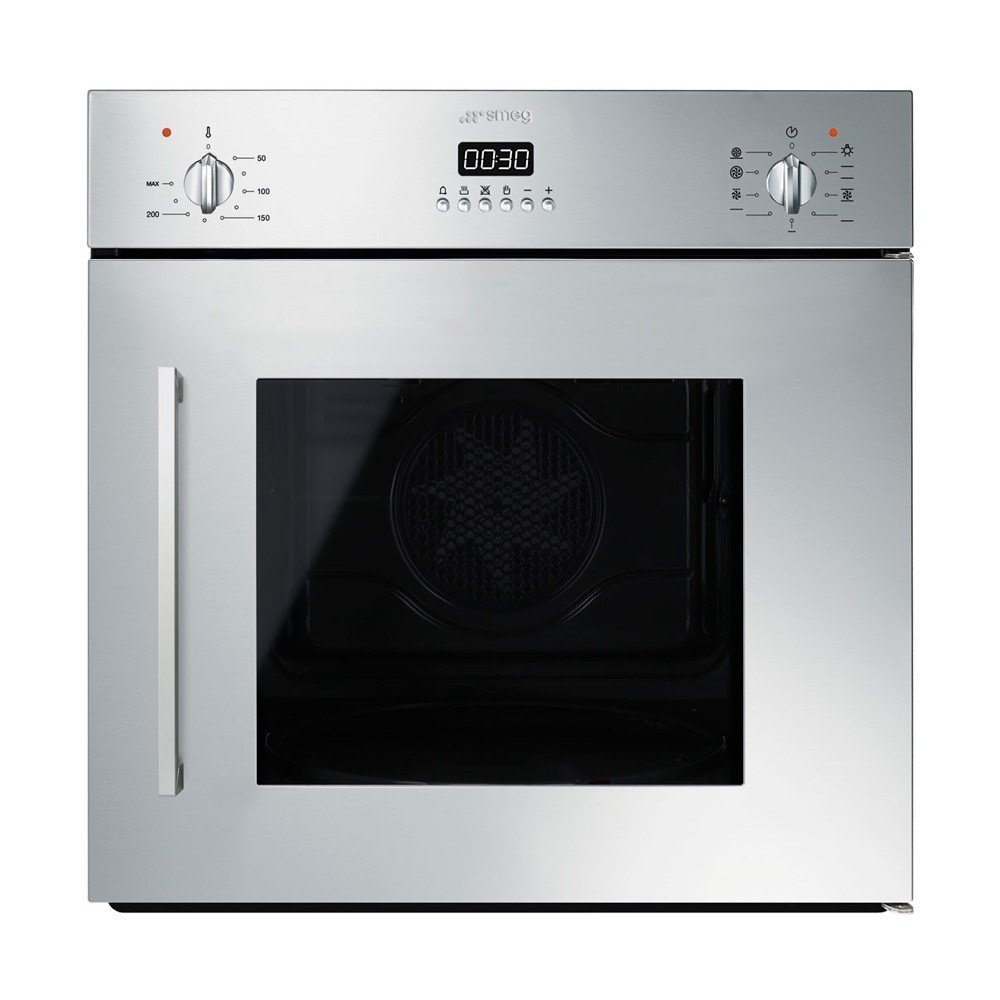 Smeg Cucina 60cm Multifunctional Side Opening Single Electric Oven ...