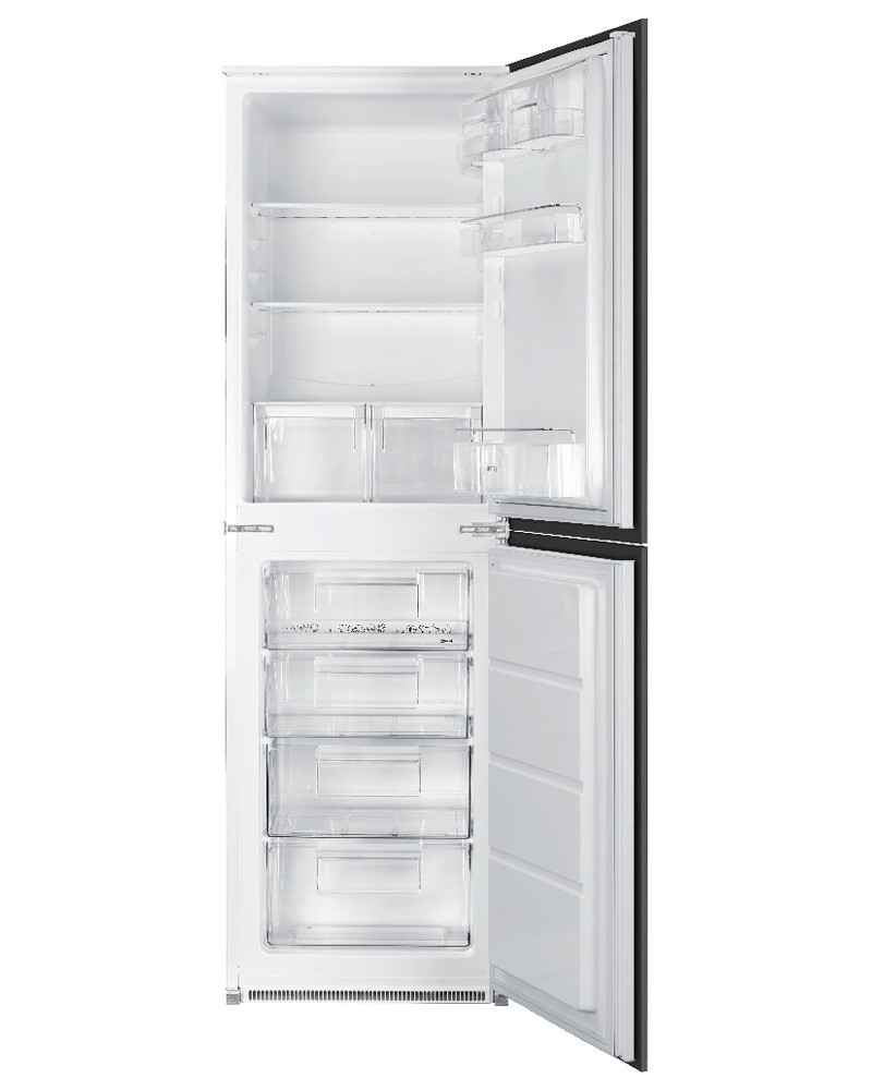 Smeg Integrated In Column Fridge Freezer 50/50