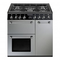 Smeg Blenheim & Burlington Range 90 cm Dual Fuel Cooker
