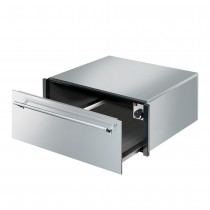 Smeg Classic 29cm Warming Drawer, Stainless Steel