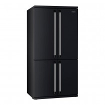 SMEG American Style Fridge Freezer - Black