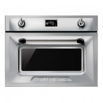 Smeg 45cm built in compact combination microwave oven