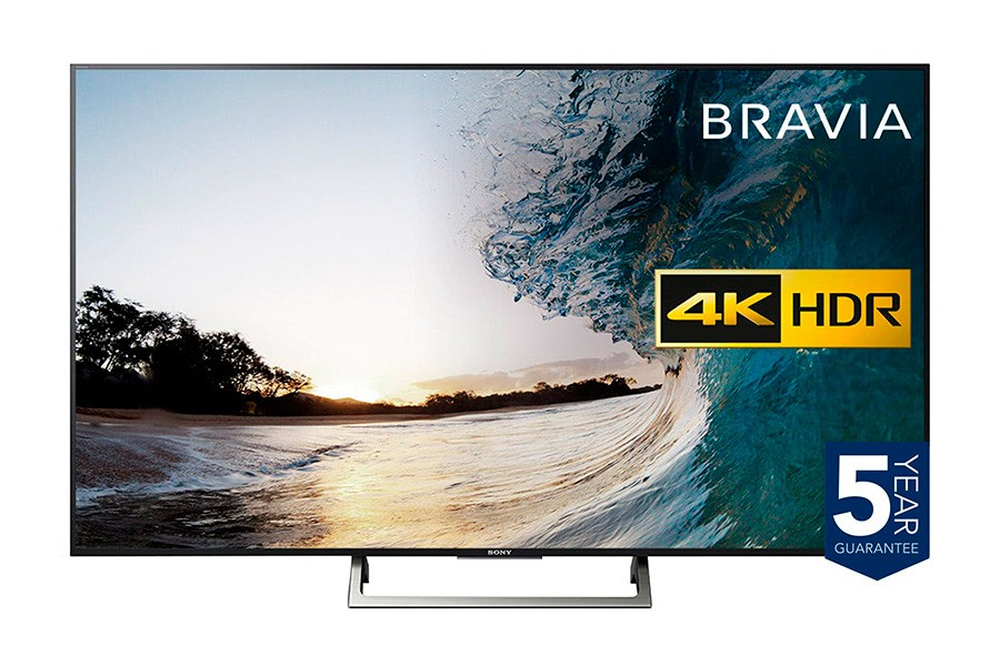 "SONY BRAVIA 55"" 4K HDR Ultra HD Smart Android TV - KD55XE8596BU"