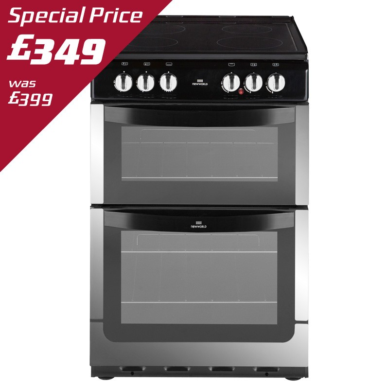 NEW WORLD 55CM ELECTRIC COOKER - NW551ETC