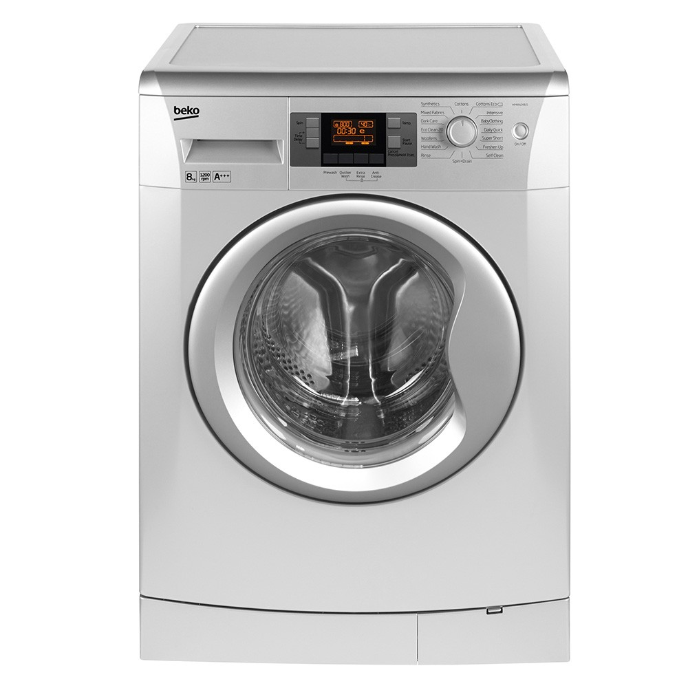 BEKO 8 KG Washing Machine (SILVER) - WMB81243LS