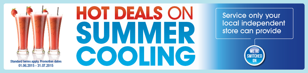 Hot Deals on Summer Cooling